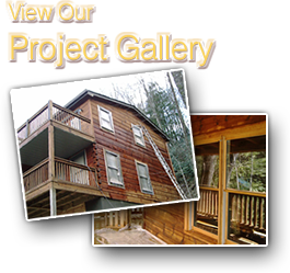 Ellijay Log Home Gallery