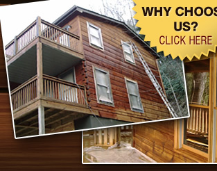 Why Choose Bear Creek Log Home Restoration
