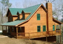 Ellijay Log Home Restoration Contractor