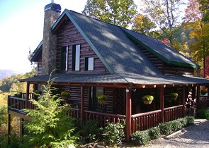 Cabin staining log home restoration pressure washing How to stain log cabin